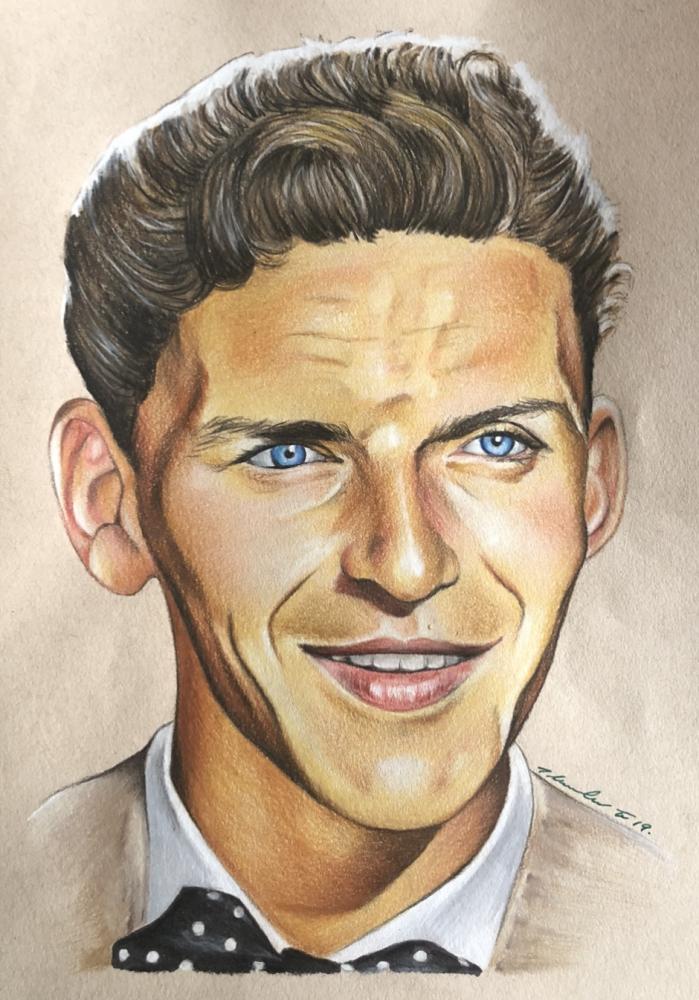 Frank Sinatra by TraceyLawler